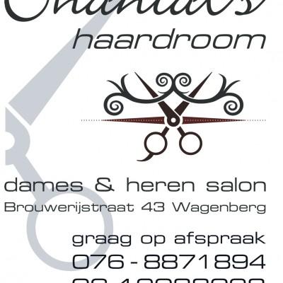 Advertentie ChantalsHaardroom 9x13,5 cm